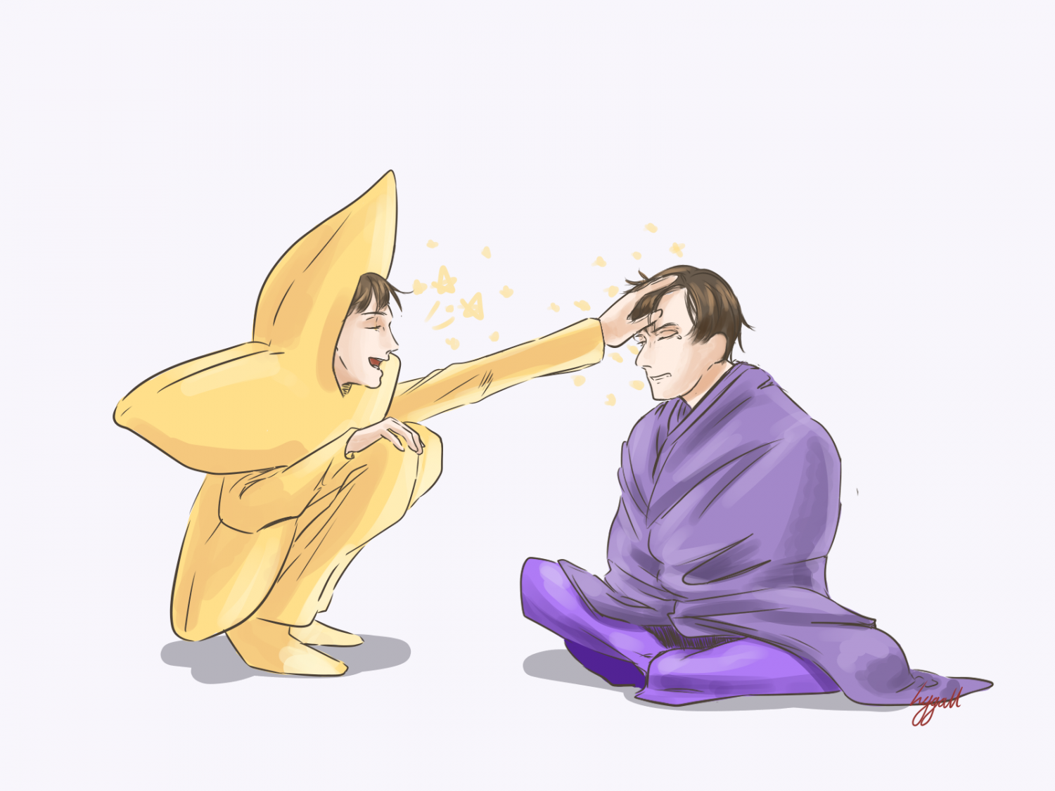Star and Kevin in the puple blanket 2.png